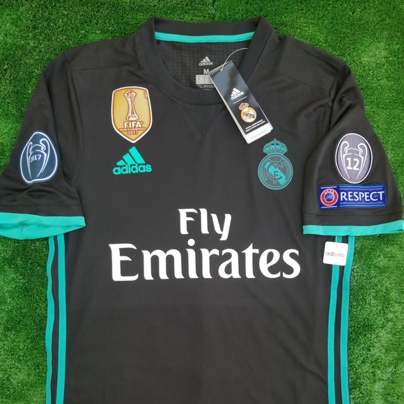 38c56a57f 17 18 Real Madrid away soccer jersey Kroos